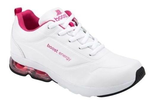 Tenis Deportivo Para Caminar Boost Mujer Hg1993