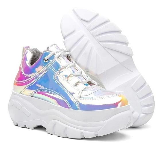 Tênis Sneaker Buffalo Feminino Speccio Laser Vicerinne