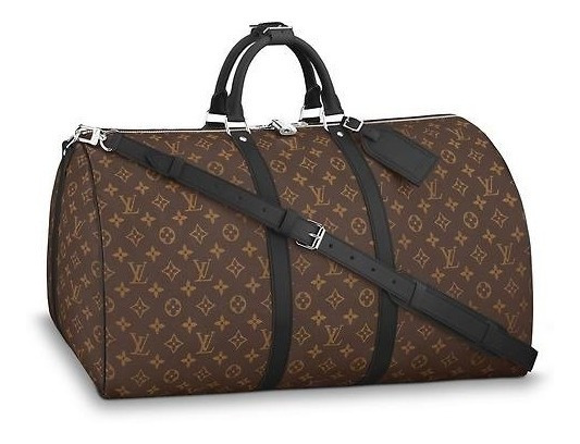 Mala Louis Vuitton Keepall Bandouliere 55 Monogram Original!