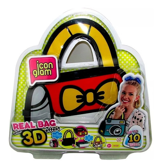 Icon Glam Real Bag Cartera Chica 3d Next Point Smile