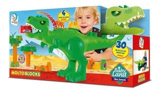 Dino Jurassico Molto 8001 Bloques 30 Ps Lionels