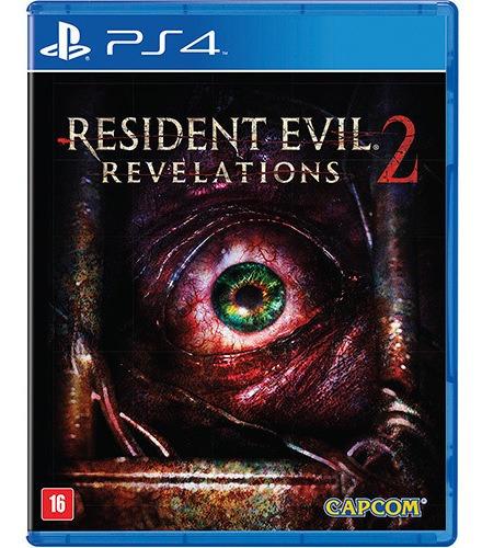 Resident Evil Revelations 2 - Ps4 Midia Fisica