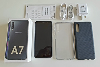 Samsung Galaxy A7 (2018) 128gb Memoria + 4 Gb Ram + Liberado