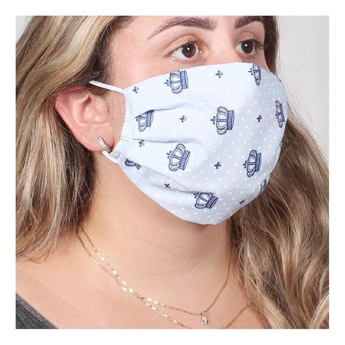 Kit Máscara Proteção Tecido De Rosto 10 Unidades C/ Forro - R$ 55 ...