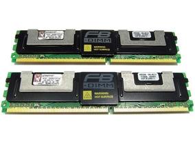 Memória Ecc Kit 4gb (2x2gb) Ddr2 Kingston Kth-xw667lp/4g