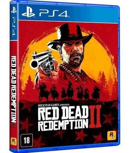Red Dead Redemption 2 Ps4 Disco Fisico