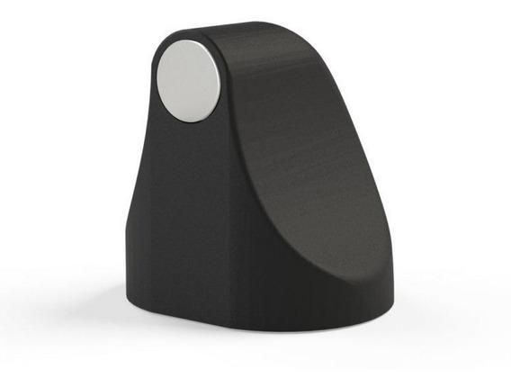 Trava Porta Magnético Universal Comfortdoor Preto Fosco