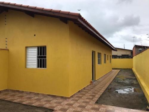 Casa Geminada No Bairro São João, Em Itanhaém,cod.6568