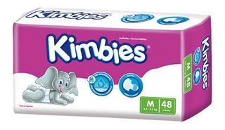 4 Packs Pañales Kimbies Con Gel Absorbente