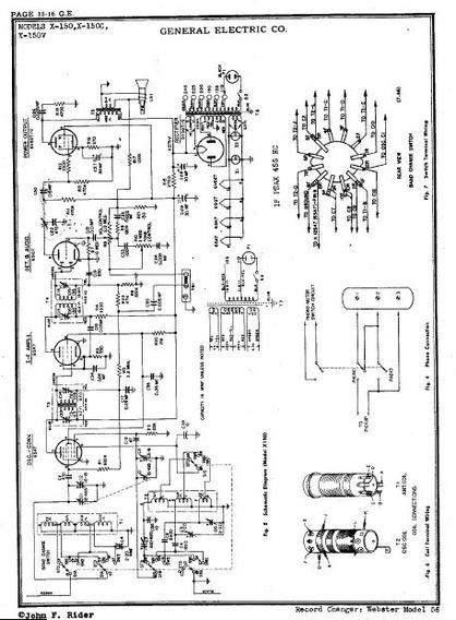 Esquemas De Radios Antigos General Electric Varios Modelos