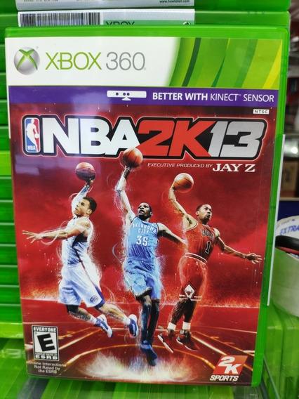 Jogo Nba 2k13 Xbox 360, Mídia Física, Lacrado