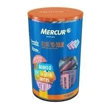 Borracha Colorida - Pote Com 40 Borracha - Color Mercur