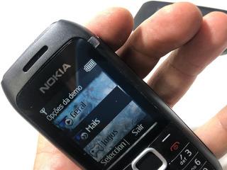 Nokia C1 00 1616, 2chip Novo Rádio Lanterna Ideal Idoso