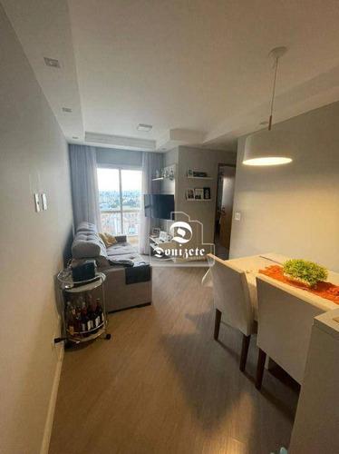 Imagem 1 de 25 de Apartamento, 50 M² - Venda Por R$ 340.000,00 Ou Aluguel Por R$ 1.600,00/mês - Santa Maria - Santo André/sp - Ap17142