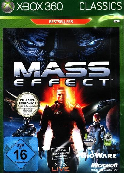 Jogo Mass Effect Com Disco De Bonus Xbox 360 Novo Lacrado