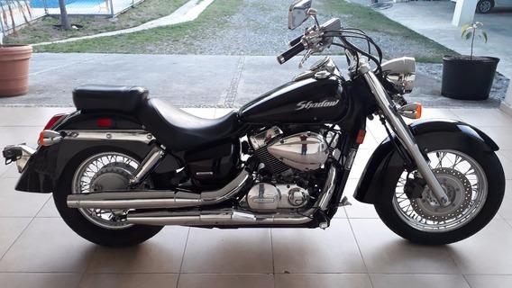 Honda Shadow Vt750 Negra 2009 Yamaha Suzuki Kawasaki
