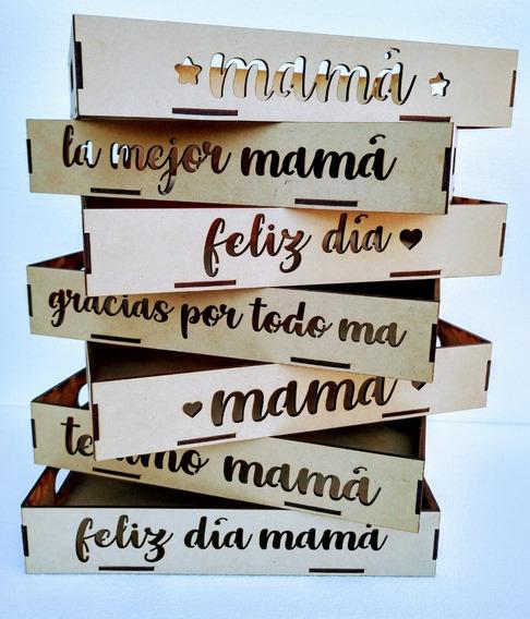 Bandejas Desayuno Fibrofácil Día De La Madre 20x30cm