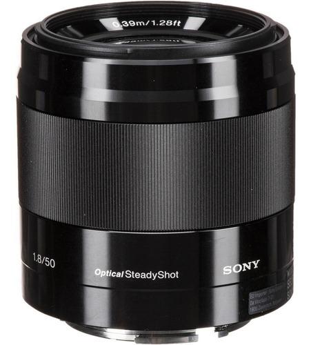 Lente Sony E 50mm F/1.8 Oss Nova