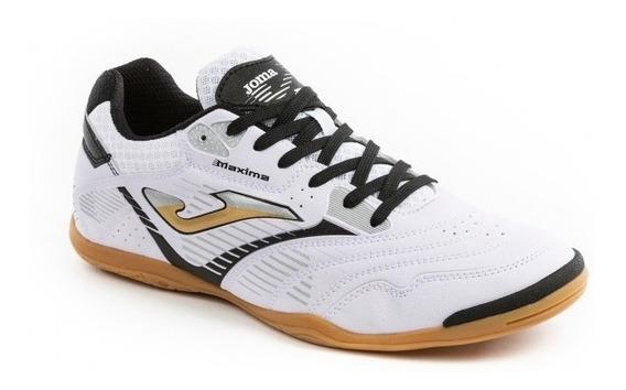 Chuteira Futsal Joma 902 - Branca