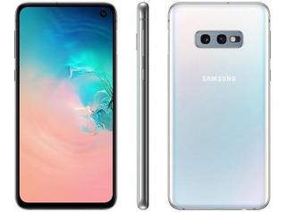Smartphone Samsung Galaxy S10e 128gb Branco 4g - 6gb Ram Tel