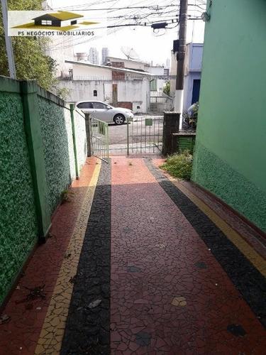 Sobrado A Venda No Bairro Jardim Da Glória Em São Paulo - - Ss532-1