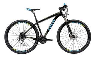 Bicicleta Mtb Caloi Atacama Aro 29 - Susp D - 24 Vel - Preto