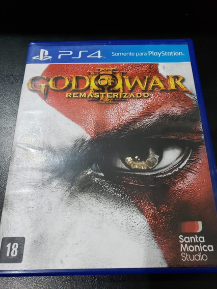God Of War 3 Remastered Ps4 Mídia Física Pt Br Semi