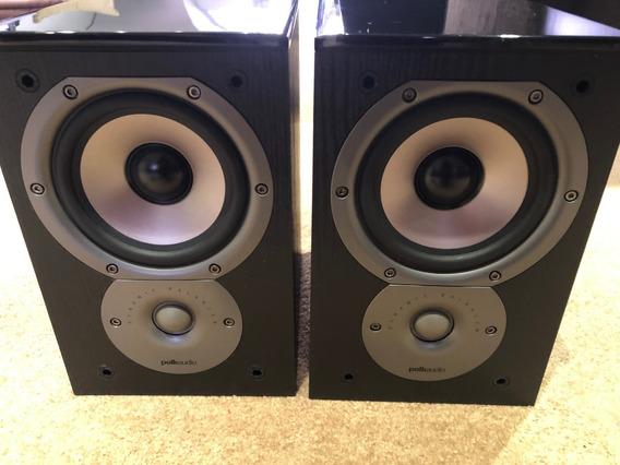 Par Caixas Polk Audio Tsi 100+par Cabo Bi-wire Stereolab 4m