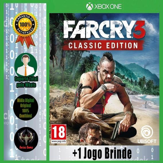 Far Cry 3 Ed. Classic Xbox One Midia Digital +1 Jogo Brinde