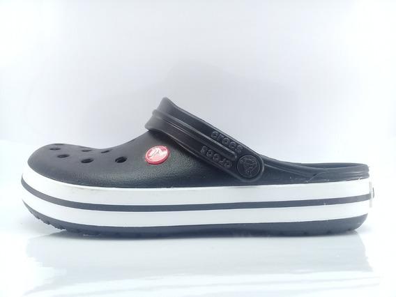 Crocs Crocband Originales Ngr/rjo Envios Caba Y Bs As