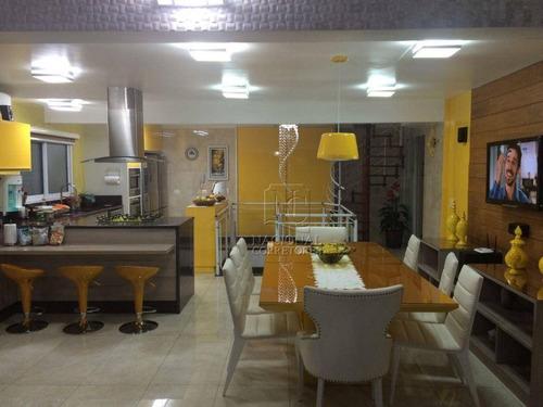 Imagem 1 de 20 de Cobertura Com 3 Dormitórios À Venda, 290 M² Por R$ 2.700.000,00 - Santa Paula - São Caetano Do Sul/sp - Co5654