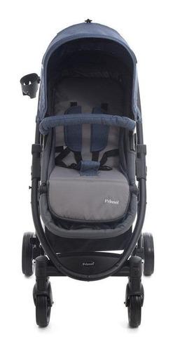 Imagen 1 de 4 de Carriola de bebé Prinsel Prima TS de paseo azul con chasis negro