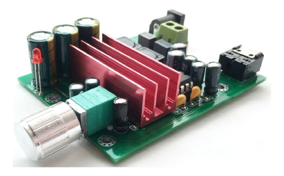 Placa Amplificador Subwoofer 100w Rms Módulo Caixa Ativa