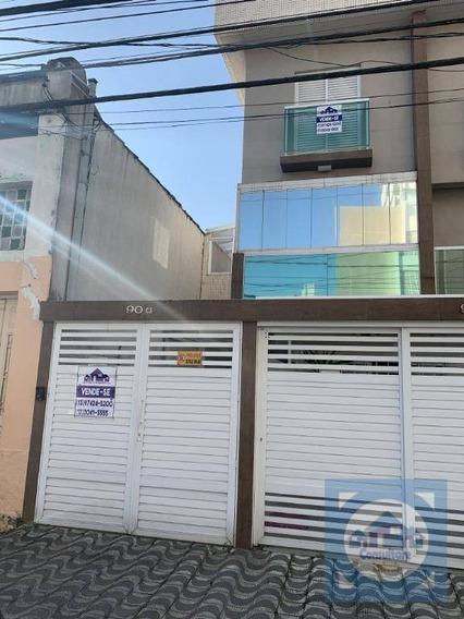 Casa Com 3 Dormitórios À Venda, 180 M² Por R$ 690.000,00 - Campo Grande - Santos/sp - Ca0856