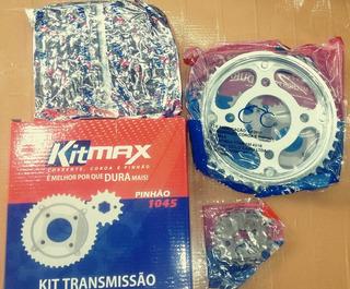 Kit Relação Titan 150/fan150 Ks Es Esd Reforçada