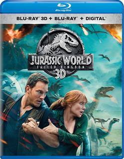 Blu-ray 3d : Jurassic World: Fallen Kingdom (with Blu-ray, 2