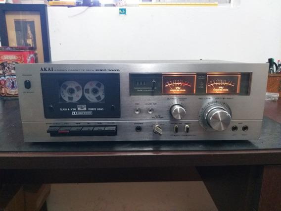 Tape Deck Akai Gxc-706d Vendo No Estado-leia O Anúncio