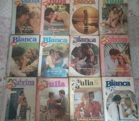 Lote Com 12 Livros - Julia, Sabrina, Bianca Florzinha