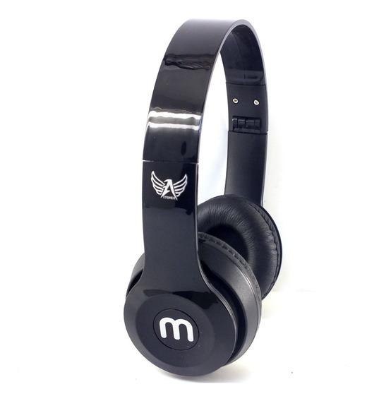 Fone Ouvido Headphone Stereo Ltomex Preto Celular Radio Notebook Desktop Acompanha Cabo P2 A11286