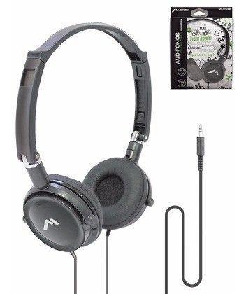 Audifonos Diadema Supraaural Negro Plegable 3.5