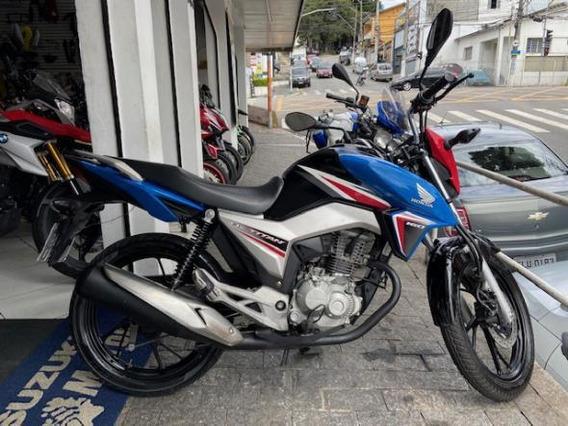 Honda Cg 160 Titan Ex 2016 Baixa Km