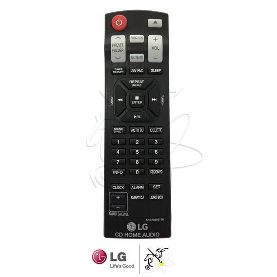 Controle Mini System LG Cm9740 Cm9940 Cm9940 Akb73655741