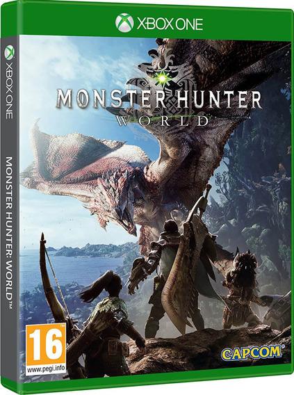 Jogo Monster Hunter World Xbox One Midia Fisica Cd Original