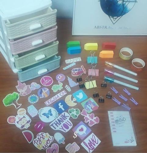 Organizador + Super Kit De Escritorio