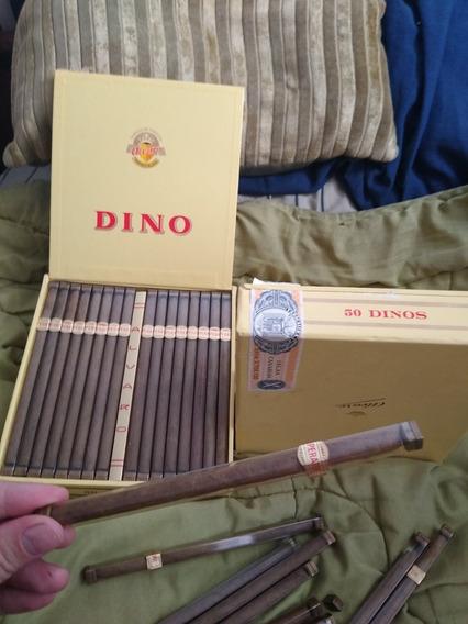 Cigarros O Puros Dinos Caja De 50 Unidades