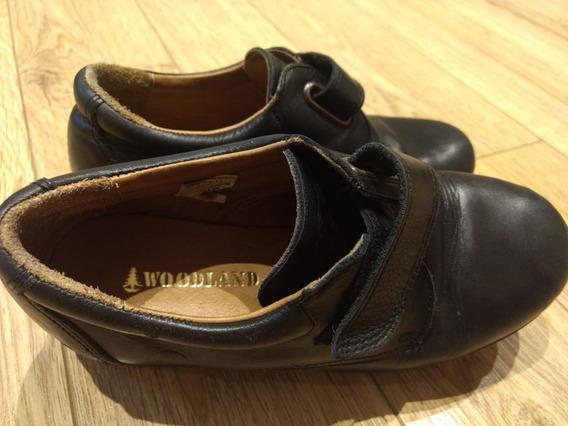 Zapatos Colegiales De Cuero Marca Woodland