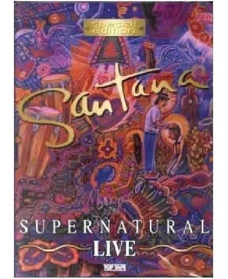 Dvd Santana Supernatural Colúmbia Com Rob Thomas Dave Mathew