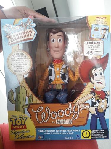 Woody Toy Story Original Disney De Coleccion En Español