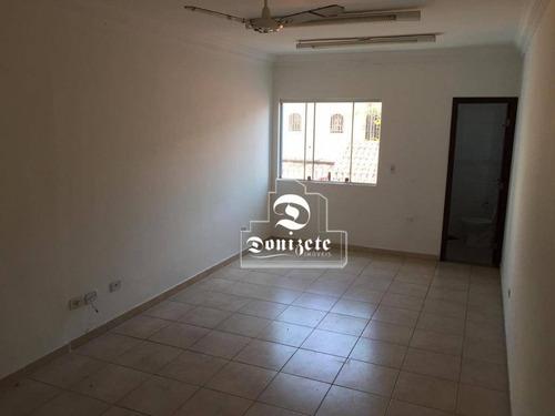 Sala Para Alugar, 25 M² Por R$ 1.001,00/mês - Jardim - Santo André/sp - Sa0954