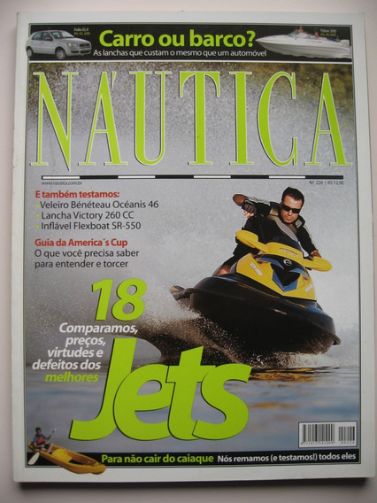 Revista Náutica - Nº 226 Jun 2007- 18 Jets
